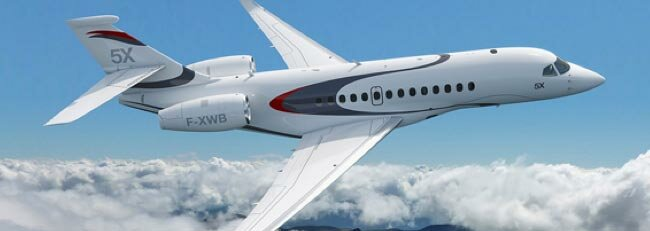 Dassault Falcon unveils the 5X – the technologically advanced new long range business jet